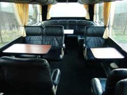 Renkuosi autobusą kelionei į užsienį